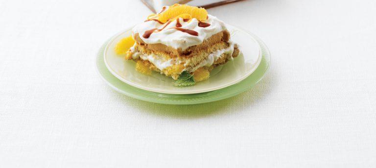 Caramel Citrus Tiramisu